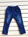 criança de vestuário botão de fixação coreano estilo jeans kids crianças macacao jeans