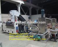 PP PE Film recycling pelletizer/pelletizing machine/granulating machine/line/plant