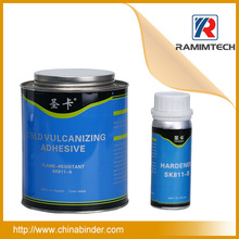 Conveyor belt vulcanizing rubber cement silicon rubber adhesive glue