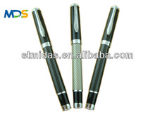 Hot selling carbon fiber pen for Promotion, gift metal roller pen, metal pen for office, company