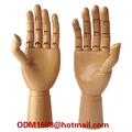 Mani manichino femminile per la visualizzazione, regolabile manichini di legno a mano articolato