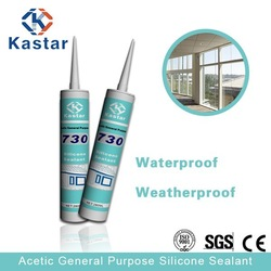 water resistant acetic silicone sealant for bonding