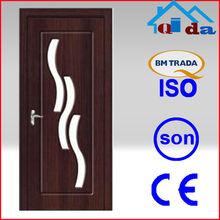 PVC glass door wardrobe