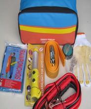 9 in1 Beautiful Bag Car Emergency Kit With Air Pump