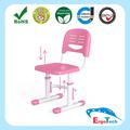 Altura regulável plástico pré-escolar cadeira