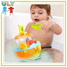 Funny bath toy/ small boat bath toy/ hot seller toys baby bath