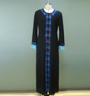 Latest design muslim long sleeve fashion abaya designs 2014 dubai