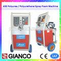 actualización 2015 spray de poliuretano de aislamiento de espuma de la pu de la espuma máquina de la certificación ce