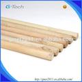 Natural vassoura alça, vassoura punho de madeira para ferramentas de limpeza doméstica