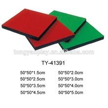 Gym Rubber Flooring,10mm-50mm Rubber Flooring Tile .rubber Floor Mat