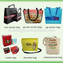 high quality promotional bag/animal printing promotional shopping bag/zipper bag promotional