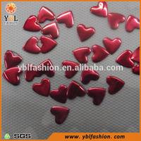 Korean Made Cute Red Heart Shape Nail Head Transfer