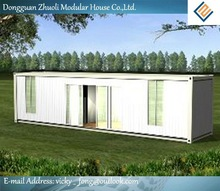 Modular prefab home kit price,low cost trailer container house