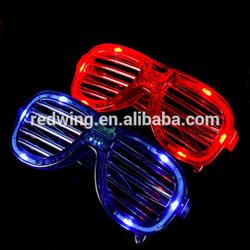 Light Up Flashing LED Rave Shutter Glass For Promotion