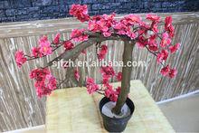2015 High quality artificial bonsai tree,cherry blossom bonsai tree
