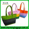 Wholesale Colorful felt shoulder bag