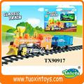 Cartoon trem, bateria- operado brinquedos, sucata de trilho de trem