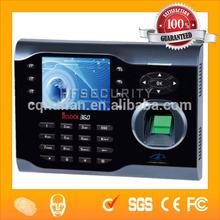 Built-in Scheduled-bell T9 Input Biometric Finger print Time Attendance Wholesaler (HF-iclock360)