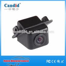 waterproof 1/4inch CCD small backup hidden reversing car camera for camry