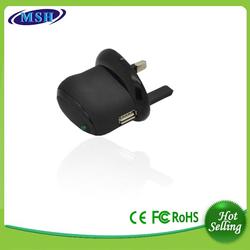 Hot sales high quality usb EU UK universal travel charger