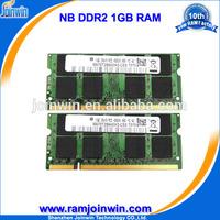 Sellers only ETT chips ram memory 1gb 200 pin sodimm ddr2 pc2-5300