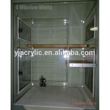 exquisite acrylic pet cage