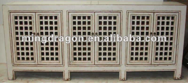 จีนโบราณตู้ครัวสีขาว