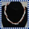 white gold color fashion design the pearl necklace