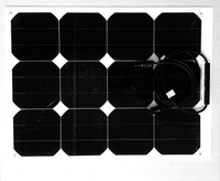 World Top quality semi flexible solar module 30W 40W 50W 60W flexible solar panel price