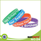 DK Accept custom silicone bracelet, long band broadband effects silicone Bracelet