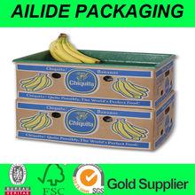 corrugated fruit carton/banana carton box/apple carton box