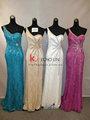 Senhoras novo modelo& vestido da forma das senhoras vestido de renda casamento dressses simples alta qualidade chá de comprimento vestido de noiva sereia