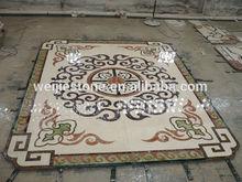 Flower Pattern water jet marble classic pattern, water jet marble floor medallion, marble floor medallion