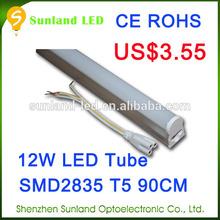 Star shape CE ROHS T5 SMD2835 1200lm 24w xxx aminal video led tube lighting