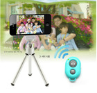 L-1wireless bluetooth remote control self-timer,mini bluetooth self timer for all mobile phones