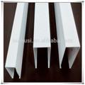 أنواع أنبوب الألومنيوم مربع سقف المشروع، الداخلية السقف المعلق