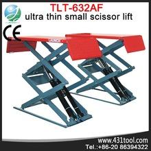 Garage equipment LAUNCH TLT632AF on ground ultra thin elevador de tijera