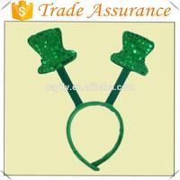 factory sale green color irish headband Saint Patrick's Day
