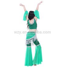 New Design tassels Belly Dance costumes children girl latin dance dress