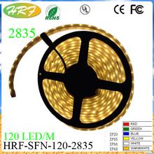 LED strip light SMD2835 High lumen 120led/m 5M 600 LED strip luminaire IP22 IP 65 IP66 IP68