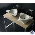 galala marmor modernes design oben montiert Bad waschbecken