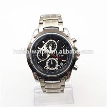 Customised Stainless Steel Watch Men Multifunction Chronograph Watch Custom