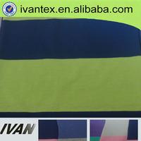 polyester cotton yarn dyed stripe fabric