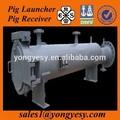 Schwein trägerrakete und empfänger in chemie-pipeline