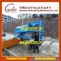50tph river sand beneficiation plant gold trommel