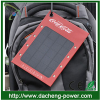 2014 Best portable solar power charger bag/backpack for mobile phone with OEM logo