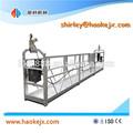 De gran altura equipos de limpieza de aluminio plataforma de trabajo