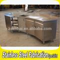custom made açoinoxidável comercial do armário de cozinha