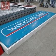 Customized Programmable Acrylic Led Luminous store signage