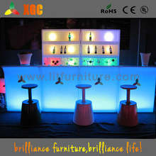 Portable led decoration bar counter,lighted bar counter top,pub bar counter